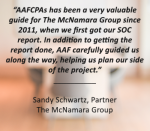 McNamara Group SOC Report Testimonial