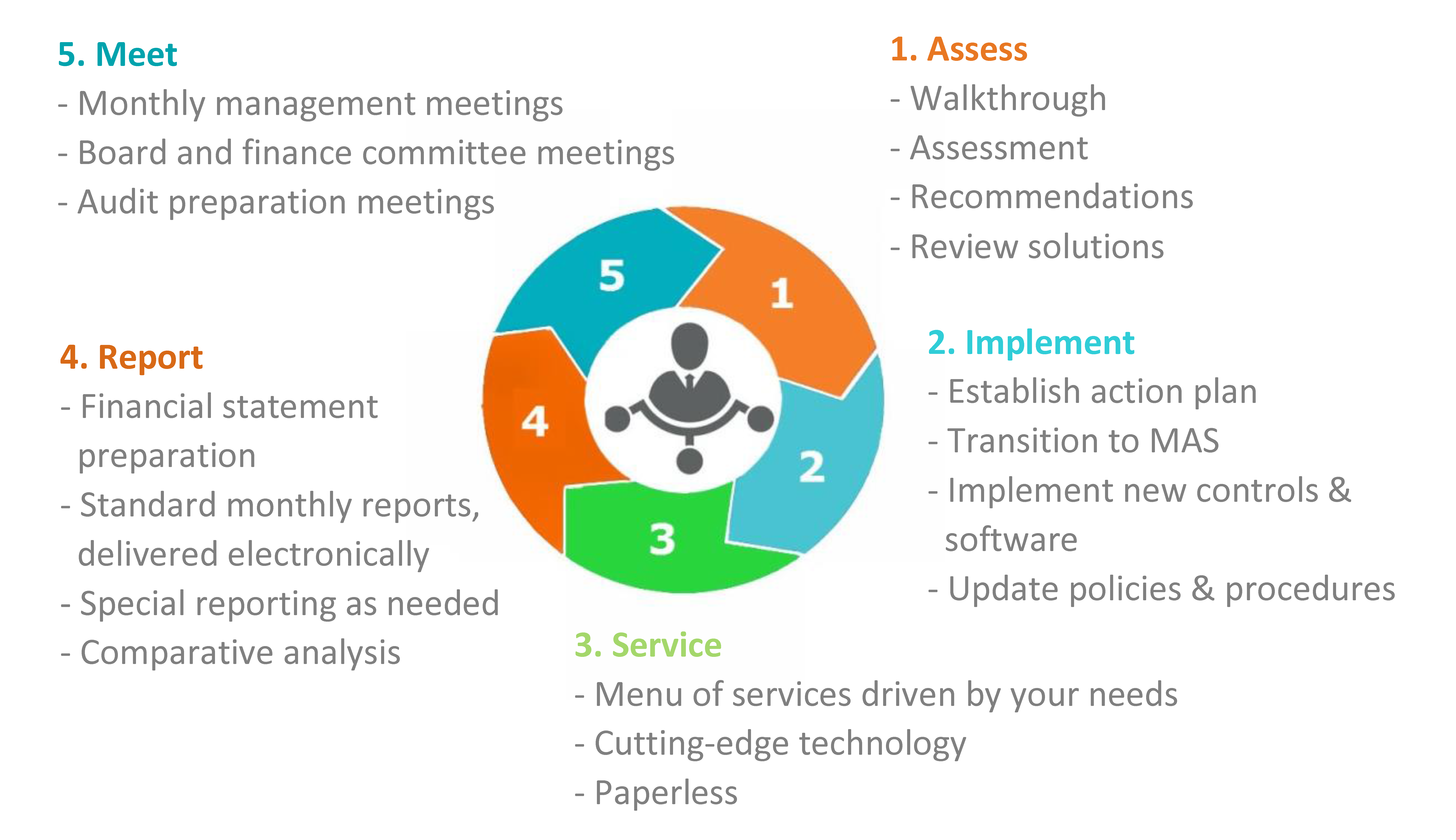 Managed Accounting Solutions Infographic