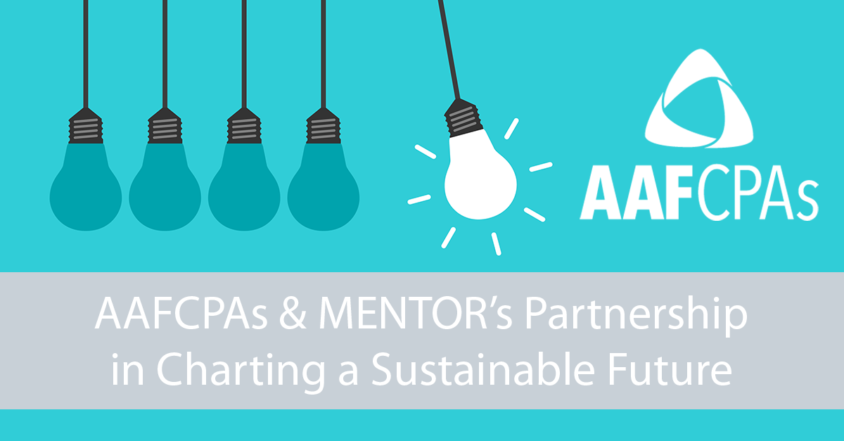 AAFCPAs & MENTOR's Partnership in Charting a Sustainable Future