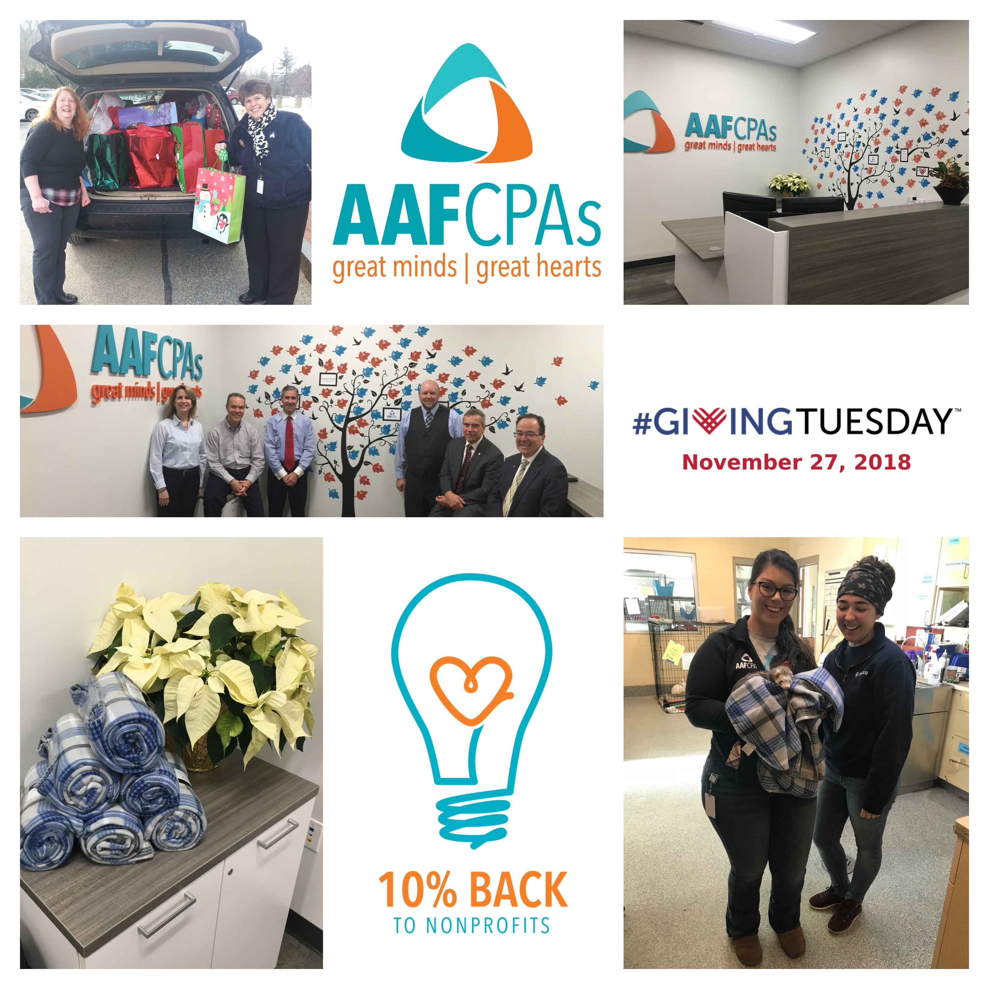 AAFCPAs' #GivingTuesday Match Donates Over $31K to Charities