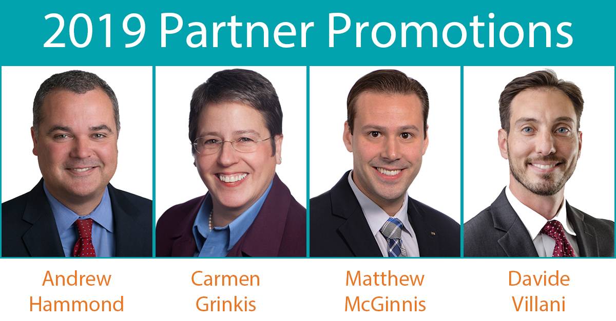 AAFCPAs Promotes Four to Partner to Support Firm Growth