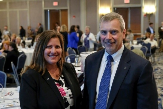 Carla McCall and Dave McManus, Co-Presidents