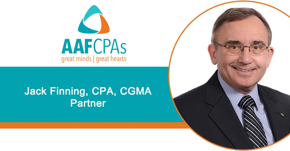 AAFCPAs' Jack Finning to Speak at FENG